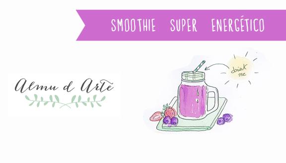 Receta de smoothie super energético