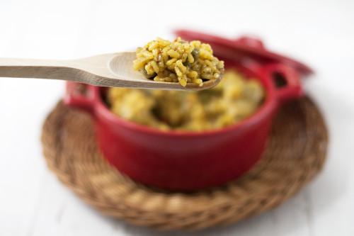 Receta de arroz con pollo. 100% mediterránea