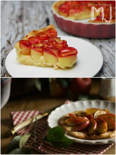 Recetas de tarta de manzana de Las recetas de MJ y Because