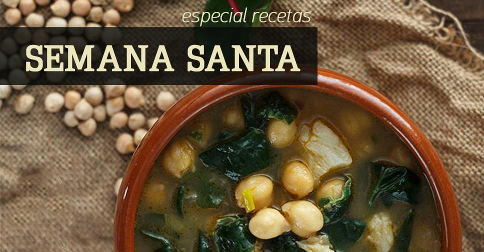 Recetario con las mejores recetas de Semana Santa