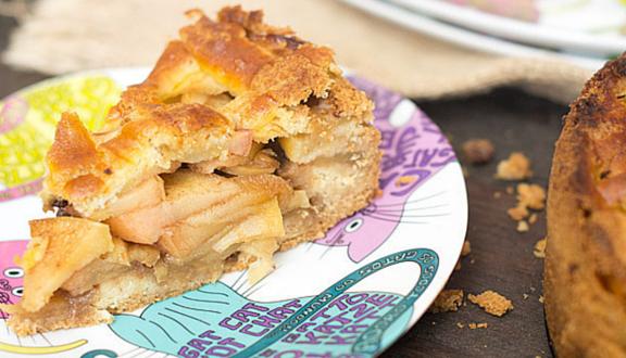 tarta de manzana al estilo holandes del blog Cocinando con Catman