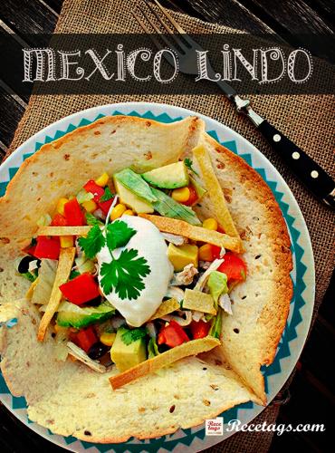 Recetario online Mexico lindo con recetas mejicanas para todos los públicos