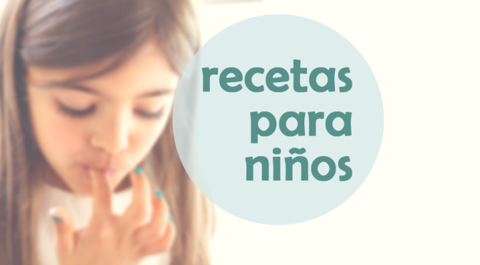 Recetario online con recetas para niños