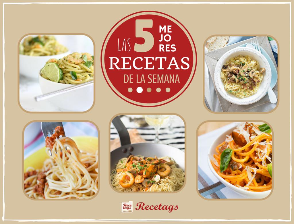 Recetas de espaguetis de nuestros blogueros colaboradores