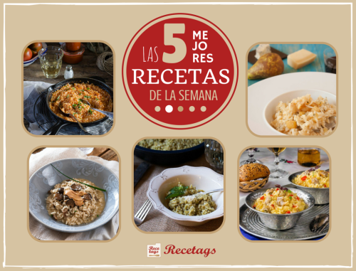 5 diferentes recetas de risotto