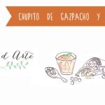 Receta ilustrada de gazpacho y boquerones