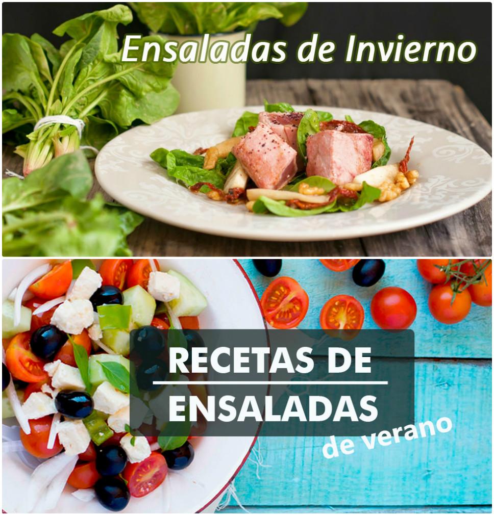 Recetarios de ensaladas en Recetags