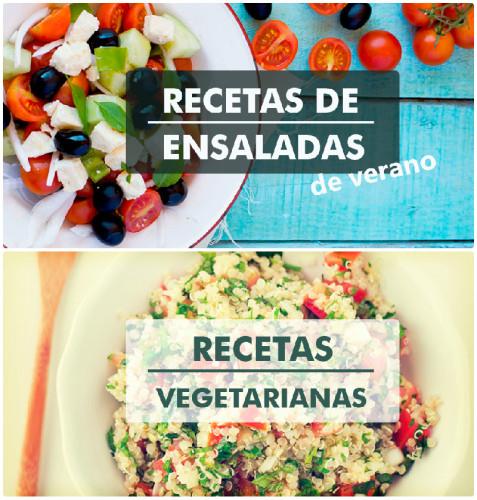 Recetas de ensaladas y recetas vegetarianas