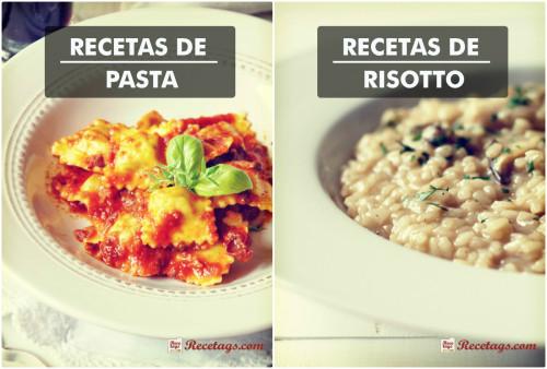Recetas de pasta y risotto al más puro estilo italiano