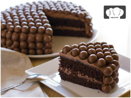 Tarta de chocolate del blog Pepacooks
