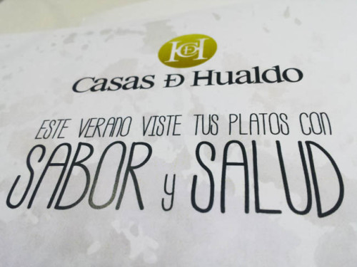 Este verano Sabor y Salud con Casas de Hualdo
