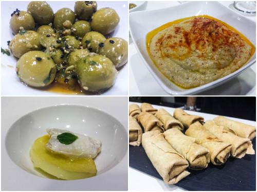 Aperitivos con aceite de oliva