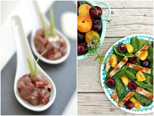 Los mejores platos salados con cerezas