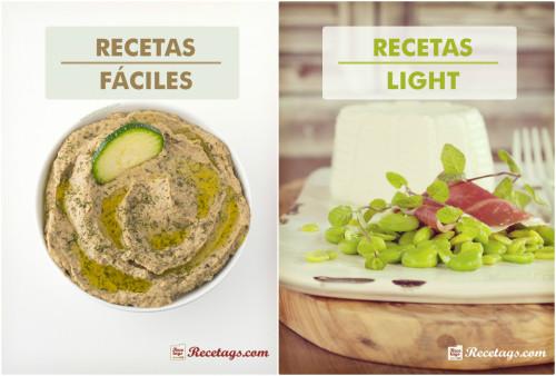 Recetas fáciles y light. Dos imprescindibles de nuestra cocina