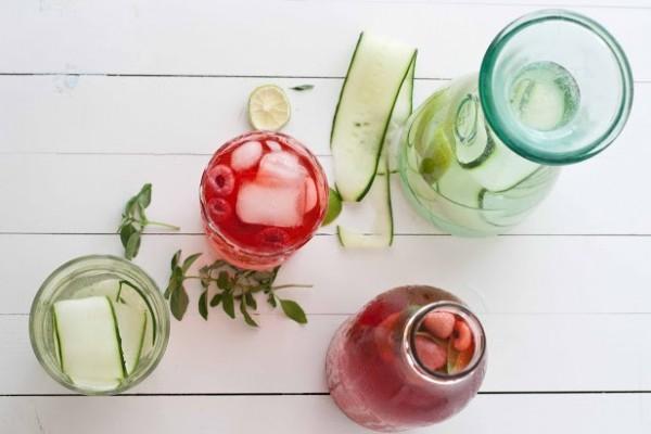 Aguas de sabores a base de frutas. La mejor ideal para el verano.