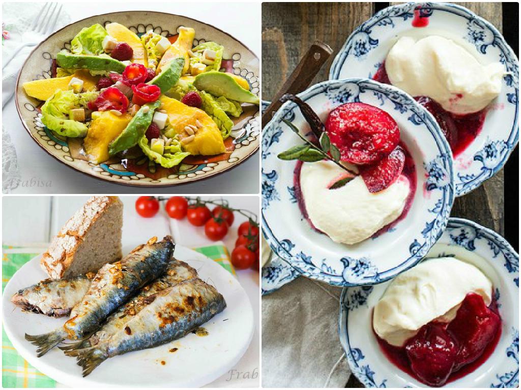 Dise a tu propio men de verano blog de recetags for Menu semanal verano