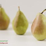 Comer sano es la pera