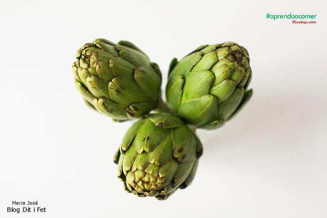 Las alcachofas son ricas en fibra