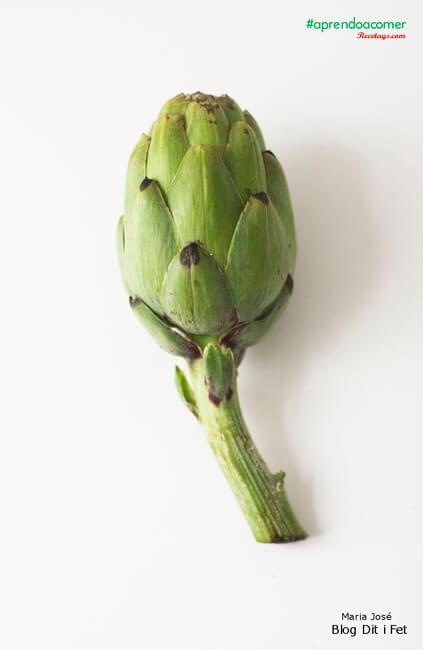 Aspecto único e inconfundible de las alcachofas