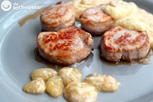 Solomillo de cerdo con salsa de uvas del blog Recetas de Rechupete