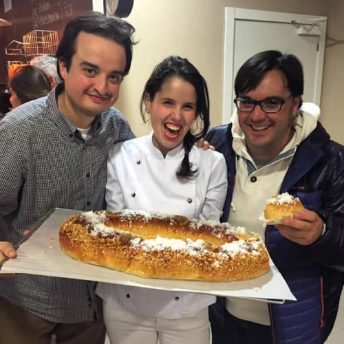 """Compartiendo Roscón con Clara y Alfonso """"de rechupete"""""""