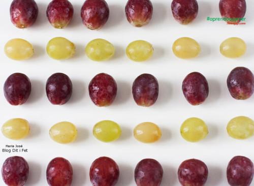 La tradición en España es comer 12 uvas en Nochevieja