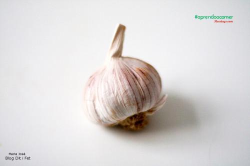 El ajo es un ingrediente típico de nuestra gastronomía