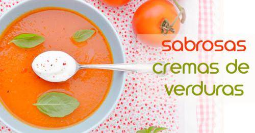 Sabrosas cremas de verduras para un perfecto recetario de cremas de verduras.