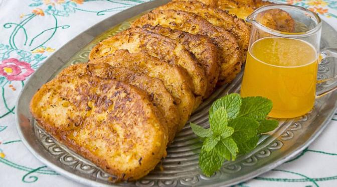 Torrijas de naranja de la cocina de frabisa ideales para un recetario de semana santa perfecto