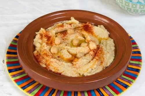 Hummus de garbanzos del blog La cocina de Frabisa