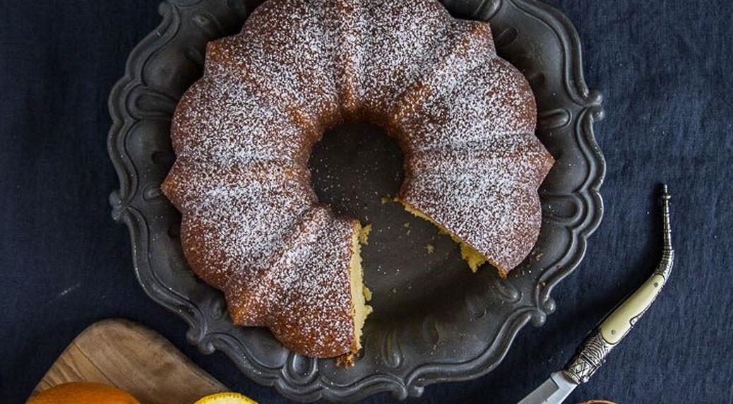 Bundt Cake de naranja del blog No quieres caldo?...Pues toma 2 tazas