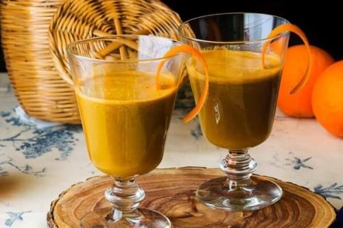 Zumo de naranjas y hortalizas del blog La Cocina de Frabisa