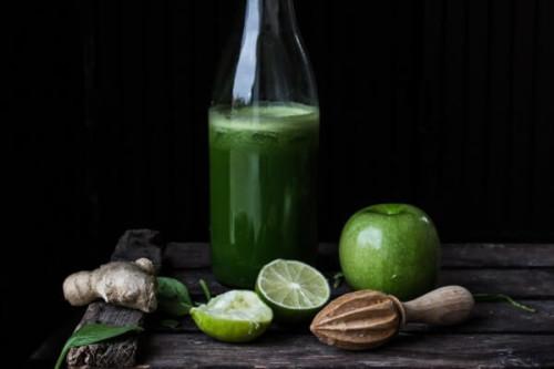 Zumo combinado de frutas del blog Xabi Likes Chocolate