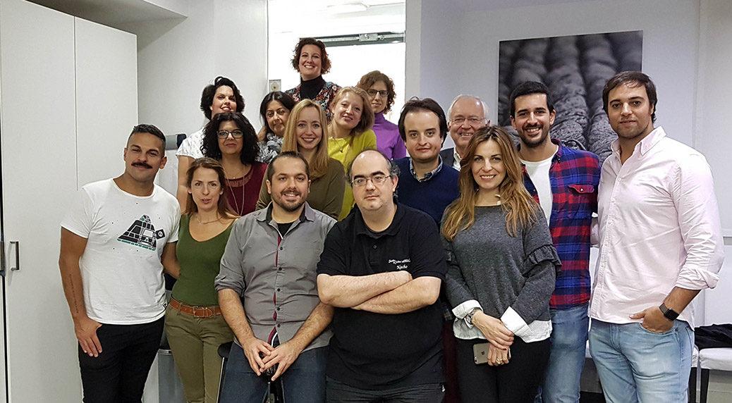 Foto de grupo de asistentes al evento #RecetagsEntreAmigos
