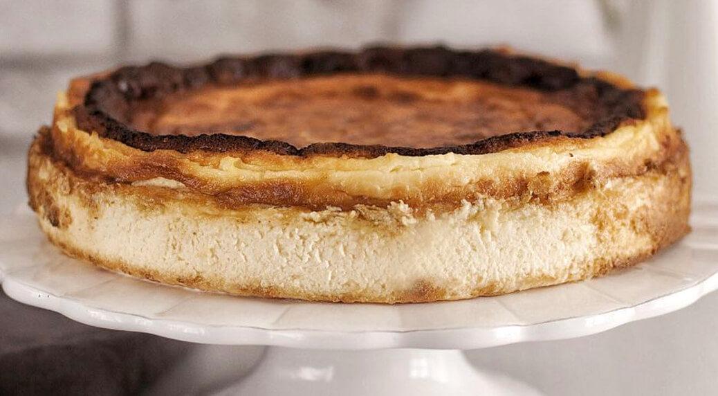 Tarta de queso La Viña, la mejor del mundo.