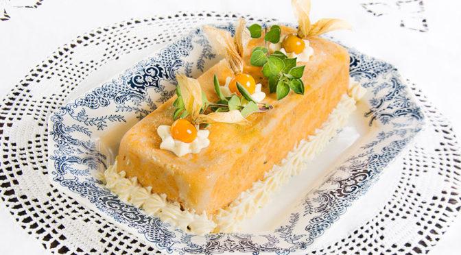 Pastel de cabracho y centolla tradicional